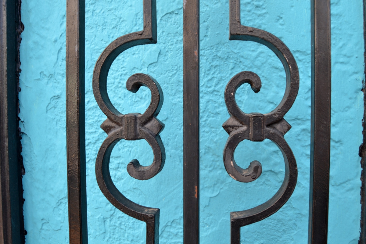Minimal Motif: Wrought Iron